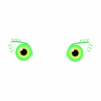 Pretty Green Eyes Photo Cutouts