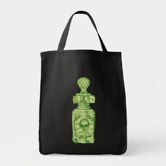 Pretty Green Poison Bottle Bags