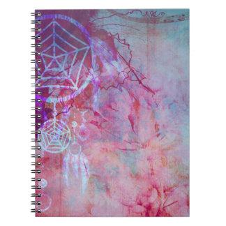 Pretty Grunge Dreamcatcher Design Notebook