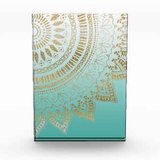 Pretty hand drawn tribal mandala elegant design award
