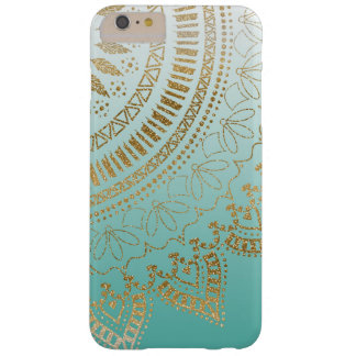 Pretty hand drawn tribal mandala elegant design barely there iPhone 6 plus case