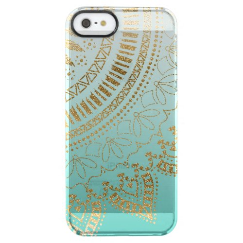 Pretty hand drawn tribal mandala elegant design Phone Case
