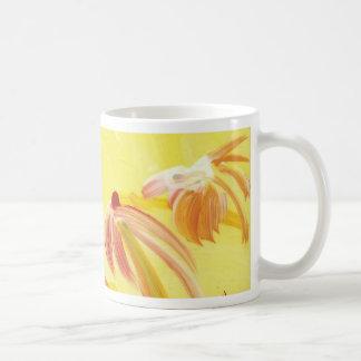 Pretty Handpainted Flowers Coffee Mug