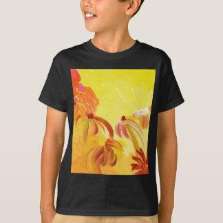 Pretty Handpainted Flowers T-Shirt