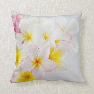 Pretty Hawaiian Floral Decorative Throw Pillow