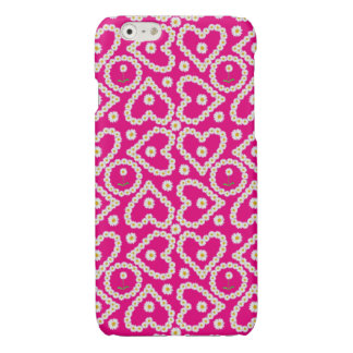 Pretty Heart-shaped Daisy Chains, iPhone 6 Case