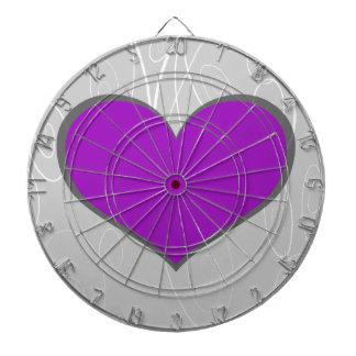 Pretty Hearts Dartboard