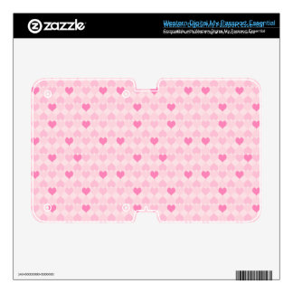 Pretty Hearts in a Line WD My Passport Skins