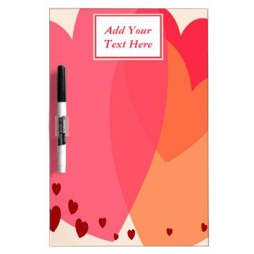 Professional Business Pretty Hearts Medium Dry Erase Board