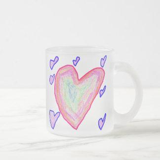Pretty Hearts Coffee Mugs