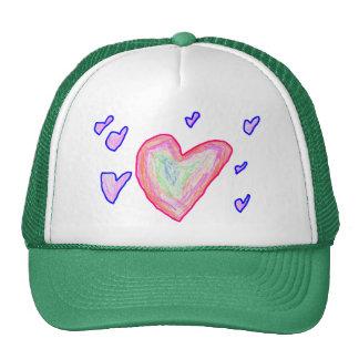 Pretty Hearts Trucker Hat