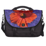 Pretty Hibiscus Flower Bag For Laptop