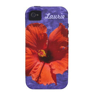 Pretty Hibiscus Flower iPhone 4 Cover
