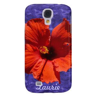 Pretty Hibiscus Flower Samsung Galaxy S4 Cases