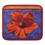 Pretty Hibiscus Flower Sleeves For iPads
