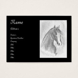 Pretty Horse Business Card