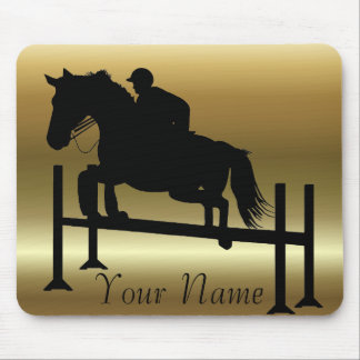 Pretty Horse Jumper Mouse Pad