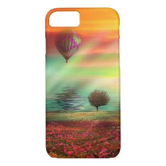 Pretty Hot Air Balloon Fantasy Landscape iPhone 7 Case