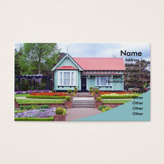Pretty House business Card