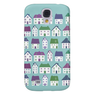Pretty House Icons Real Estate Agent Custom Galaxy S4 Case