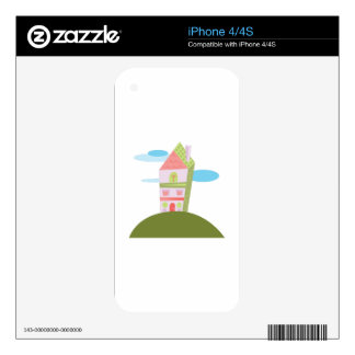 Pretty House Skin For The iPhone 4