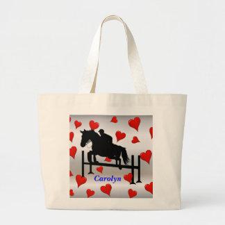 Pretty Hunter Jumper Horse Rider Bags