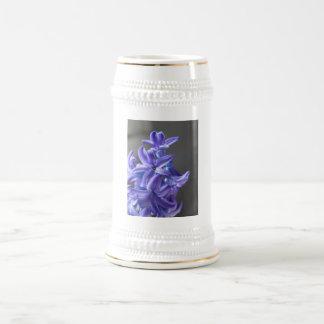 Pretty Hyacinth Beer Stein Coffee Mugs