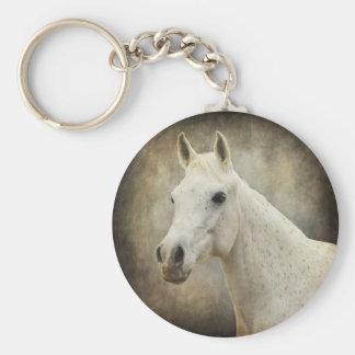 Pretty in Gray Keychain