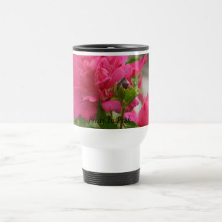 Pretty In Pink 15 Oz Stainless Steel Travel Mug
