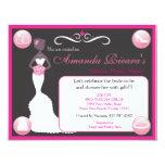 Pretty In Pink 4.25x5.5 Paper Invitation Card