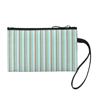 Pretty in Pink and Blue Change Purse
