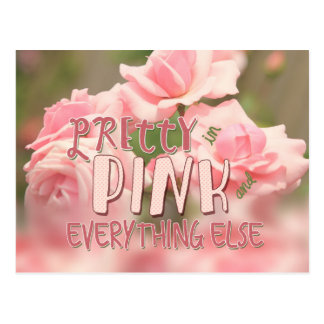 Pretty in Pink and Everything Else Hybrid Tea Rose Post Cards