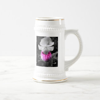 Pretty in Pink Beer Stein