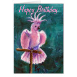 Pretty In Pink Birthday Card Greeting Cards