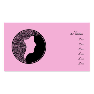 Pretty in Pink Business Card Templates