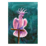 Pretty In Pink Cockatoo Art Card Business Card Templates