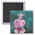 Pretty In Pink Cockatoo Magnet
