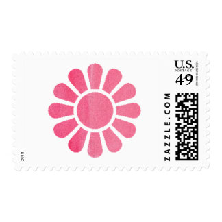 Pretty in Pink Daisey Postage