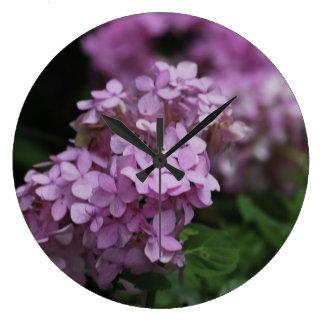 Pretty In Pink Designer Wall Clock