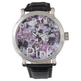 pretty in pink diamonds and jewels watch