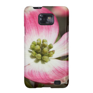 Pretty In Pink Dogwood Blossom Macro Samsung Galaxy SII Covers