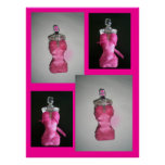 Pretty in Pink Dress Posters