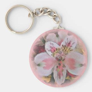 Pretty in Pink Floral Bouquet Keychain
