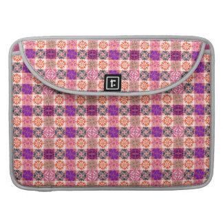 Pretty in Pink Floral Macbook Sleeve Sleeves For MacBooks