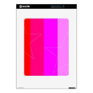 PRETTY IN PINK - GIRL'S RULE iPad DECAL