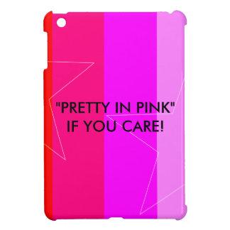 PRETTY IN PINK - GIRL'S RULE iPad MINI COVERS