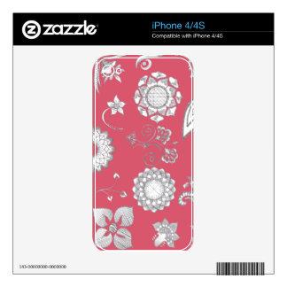 Pretty in Pink! iPhone 4 Skin