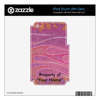 Pretty In Pink iPod Touch 4G Skin