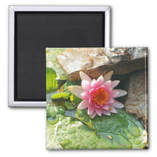 Pretty in Pink 2 Inch Square Magnet