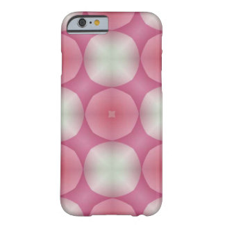 Pretty in Pink Modern Geometric Fractal Barely There iPhone 6 Case